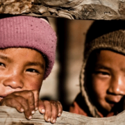 Image of two Nepalese children