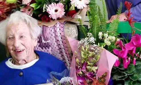 Moira turns 100