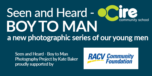 Boy to Man a photography exhibition