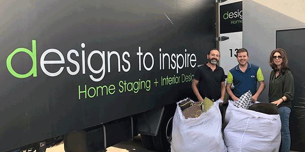 Design to Inspire donates furniture to Cire Services