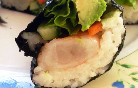 UYCH Kitchen Skills - sushi