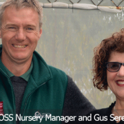 Image of Gus Seremetis UYCH CEO and Shaun Bayley ECOOS Nursery Manager