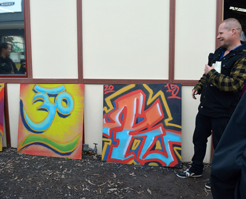 Image of YVCS Graffiti Art Project