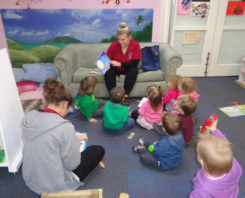 IImage of Children's Centre story time