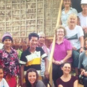 Image of the team of woman that raised funds for the Cambodian Project