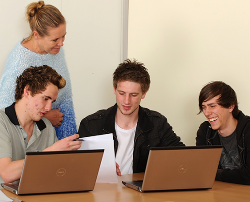 Image of YVCS students