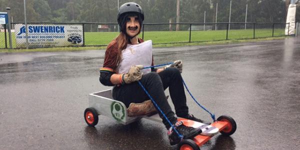 Super Mario ready to race