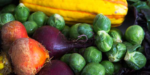 Hearty winter vegetables