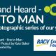 Boy to Man a photography exhibition