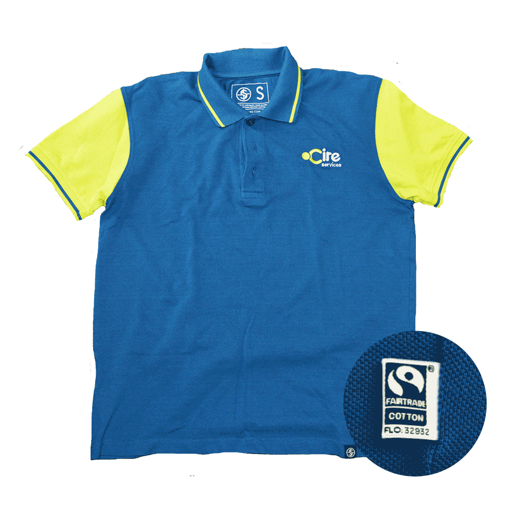 Cure staff polo shirt