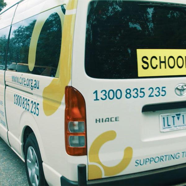 Cire Community School bus