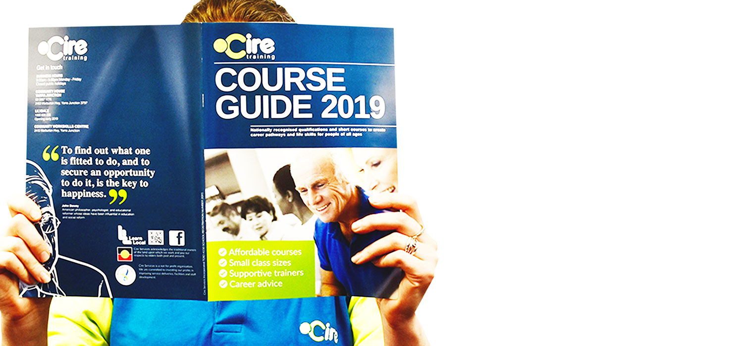 Cire Training - 2019 course guide out now