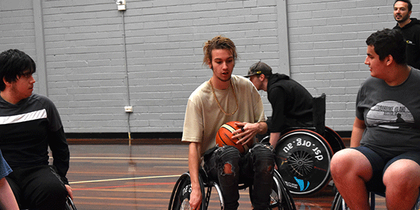 Cire Wheelchair Basketball
