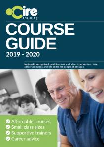 Cire Training Course Guide 2019 - 2020