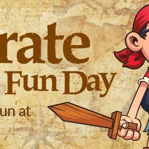 Pirate Fun Day - holiday fun at the hub