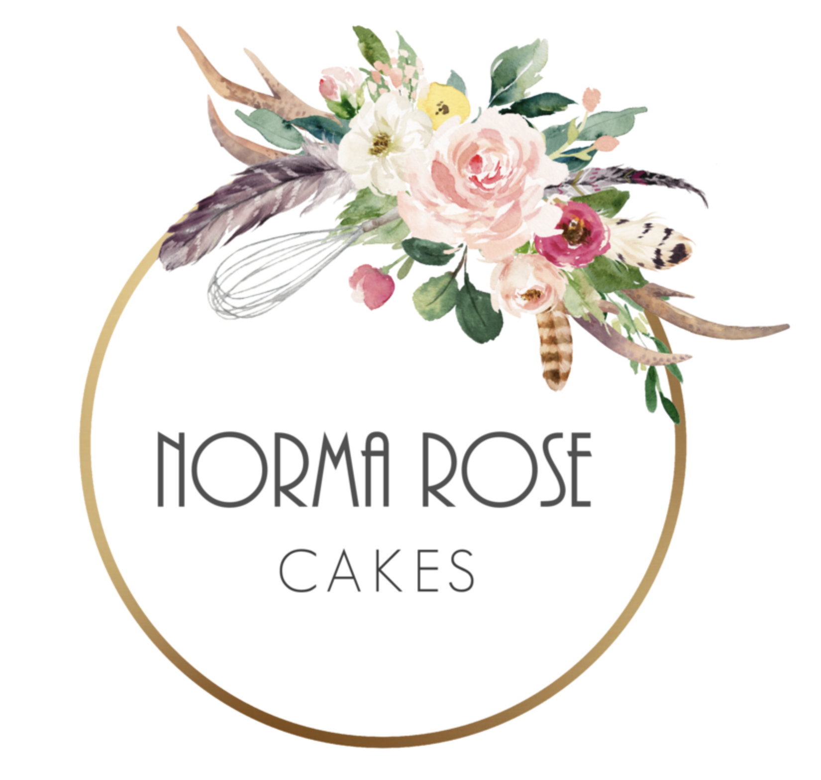 LOGO - Norma Rose Cakes