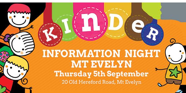 kinder-info-night-Mt-Evelyn