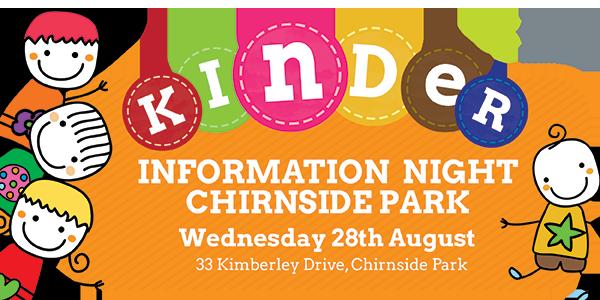 Kinder Info Night Chirnside Park