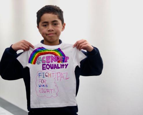 The Clothesline Project - gender equality workshop