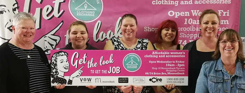 Clothing Exchange a great boost for unemployed women