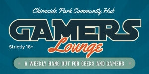Gamers Lounge - A weekly hang out for geeks and gamers!