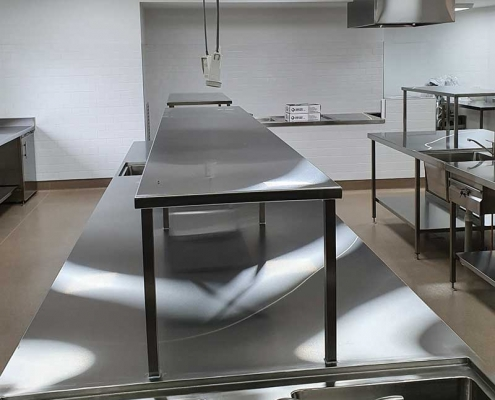 Cire Community School - Commercial Kitchen