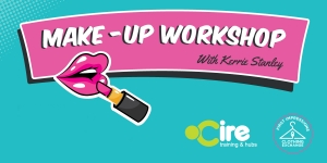 womens make-up tutorial workshop