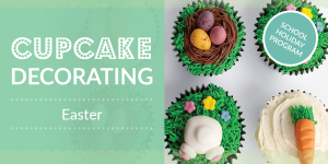 Cupcakes decorating Easter