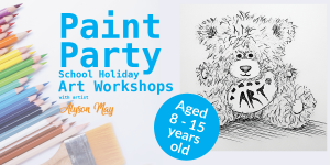KIDS-SCHOOL-HOLIDAY-art-workshops-Paint-Party
