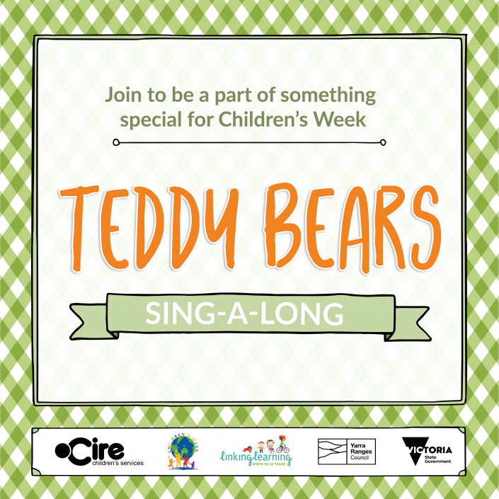Teddy Bears Sing-A-Long Generic tile 2 1080px x 1080px