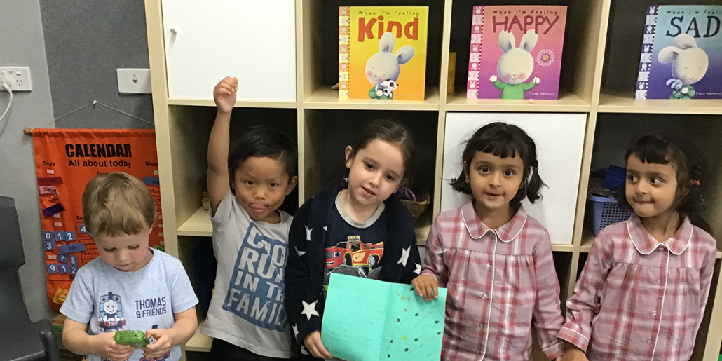 Cire kids excitedly repurpose office furniture