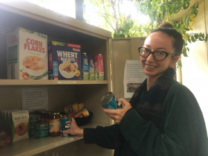 Charlie digs deep for community pantry