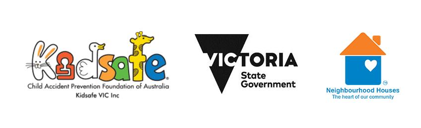Kids Safe - Vic Gov - Neighbourhood House Logo