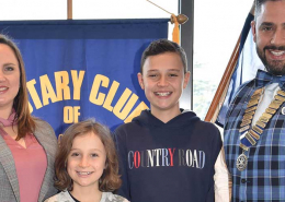 Cire student a highlight of Rotary year