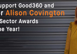 Vote for Good360 CEO to show our thanks